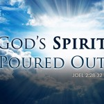 Joel 2:28-32 God's Spirit Poured Out