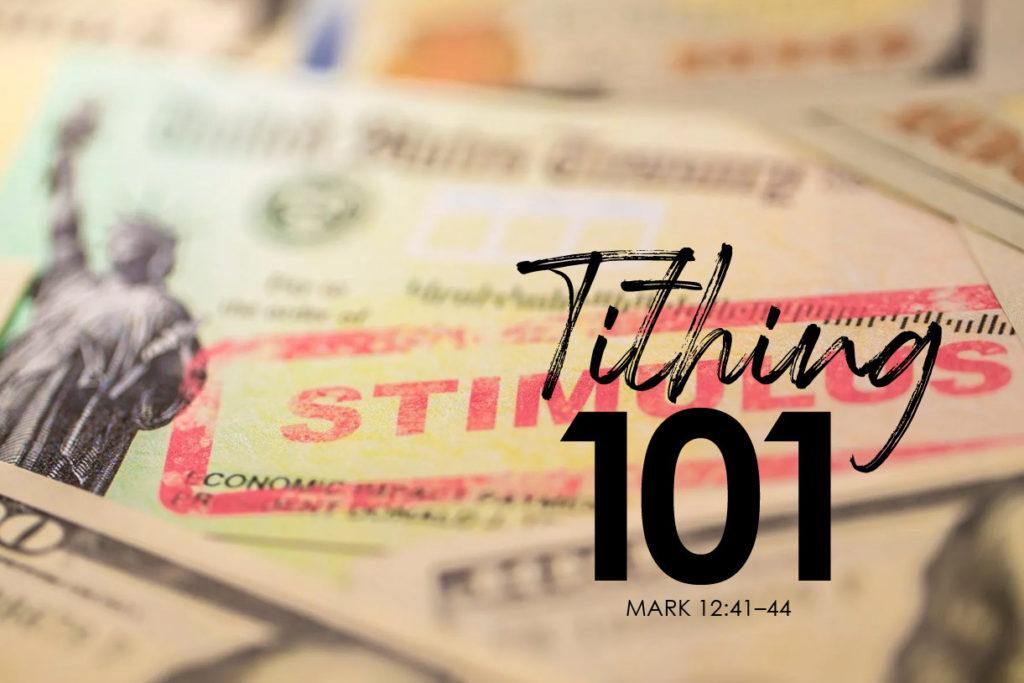 Mark 12-41–44 Tithing 101