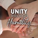 Philippians 2:1-4 Unity Through Humility